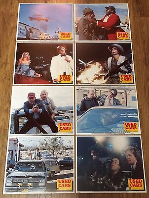Used Cars, 8 ORIGINAL US Lobby Cards, Comedy