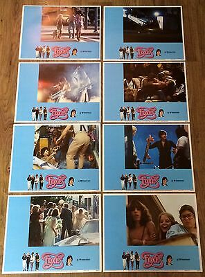 Foxes, 8 ORIGINAL US LOBBY CARDS,Jodie Foster