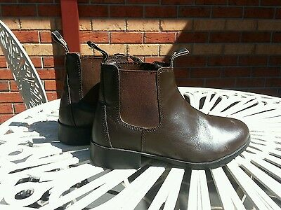 Kids Dublin Leather Riding Boots Size 2