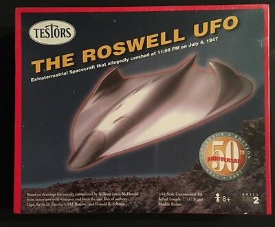Testors Roswell UFO Model Kit Sealed