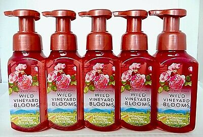3 BATH & BODY WORKS WILD VINEYARD BLOOM GENTLE FOAMING HAND SOAP 8.75oz NEW