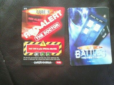 Dr who battles in time Red alert card number 79