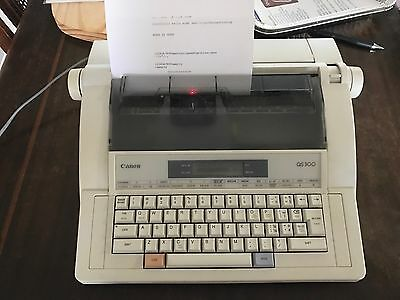 Canon QS300 Electric Typewriter