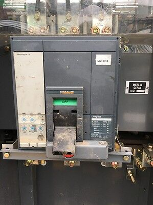 Merlin Gerin 8 Kva Compact NS1250N Micrologic 5 Schneider Switch