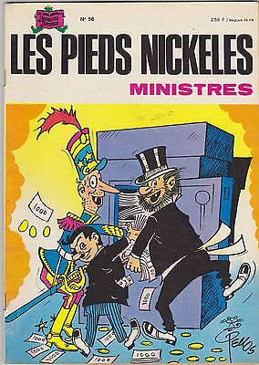 """BD  LES PIEDS NICKELES  """" Ministres"""""""