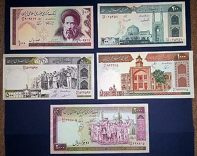 Middle East 100 200 500 1000 2000 rials