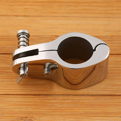 """Boat Top Fitting Jaw Slide Hinged Stainless Steel 1"""""""