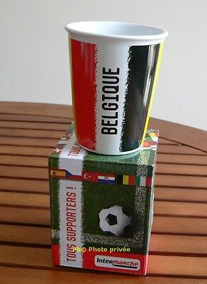 Tasse Coupe d'europe 2016 BELGIQUE