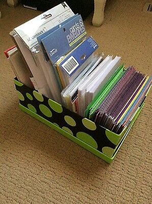 Cardmaking Box of Assorted Plain Cards and Envelopes