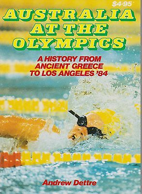Australia At The Olympics - Andrew Dettre  - Collectable 1984