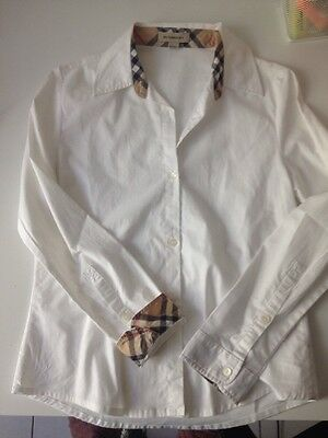 Chemise Fille Burberry 10 Ans