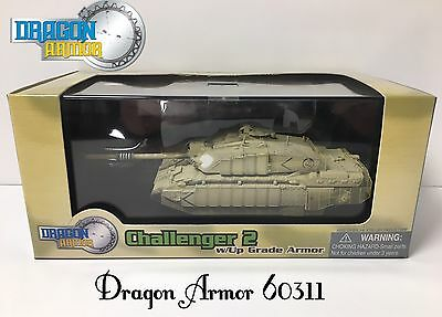 DRAGON ARMOR 60311; 1:72 Die Cast Model/Modello; EXTREMELY RARE CHALLENGER 2 MBT
