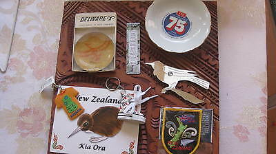 Collection of New Zealand souvenirs. (8 in Total)