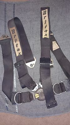 Period 4 point Britax seat harness