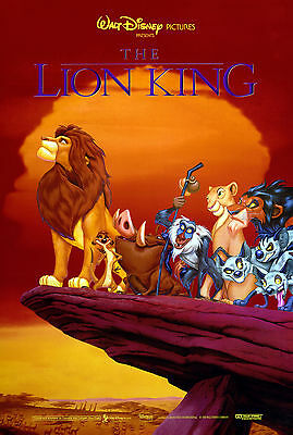 THE LION KING LAMINATED MINI MOVIE POSTER DISNEY A4 PRINT style 3