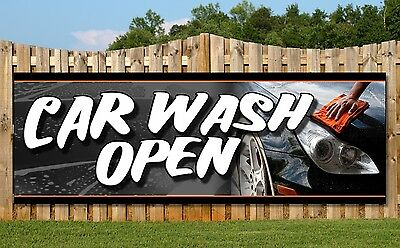 Pvc Banners - Printed Outdoor Sign Car Wash Banners