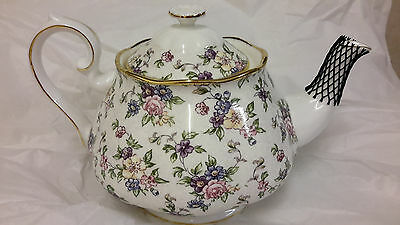 Royal Albert 1940's English Chintz Teapot- Ex display