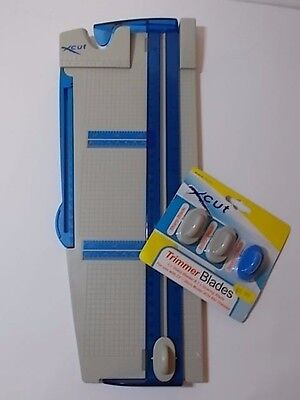 "Xcut 12"" Paper Trimmer PLUS Pack of NEW Trimmer Blades"