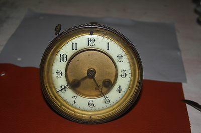 Antique French Movement Dial And Glass