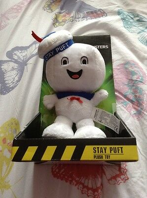 Ghostbusters Stay Puft Marshmellow Man Plush Toy