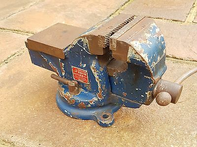 """4"""" Bench Vice With Swivel Base"""
