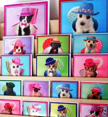 LESS THAN 10p!  'HATS OFF' cards x 500,  3 great sizes one GREAT price! wrapped