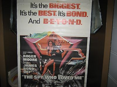 Daybill Movie Poster   The Spy Who Loved Me