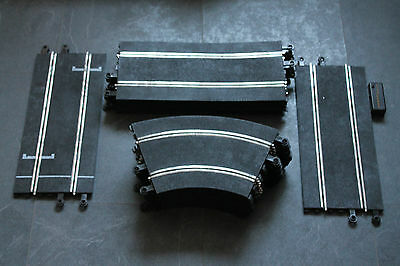 SCALEXTRIC CLASSIC TRACK L6615/MM160 joblot fully working with controllers & 12v