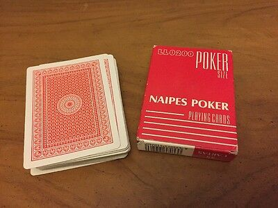 Ll0200 Poker Size Naipes Poker Playing Cards Y247