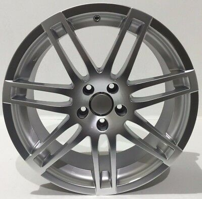 "21"" Split Spoke Alloy Wheels Fits  Audi Q7 Porsche Cayanne 5X130 Silver"