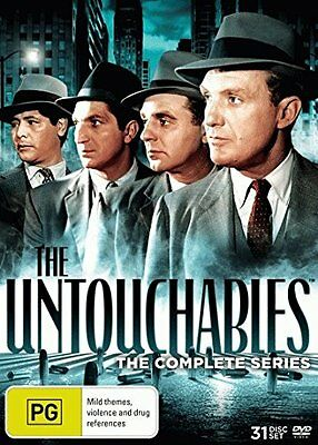 THE UNTOUCHABLES - THE COMPLETE SERIES  -  DVD - Region 4 - Sealed