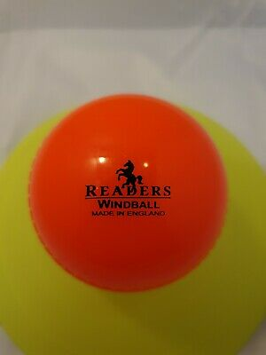 6 Official Readers Cricket Wind balls Orange Coaching Ball