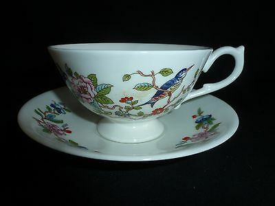 Aynsley China - Pembroke Pattern - Large Cup And Saucer