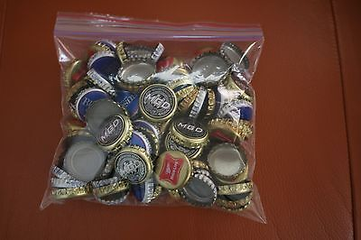 BOTTLE CAPS LOT OF 100 Twist Off with NO DENTS