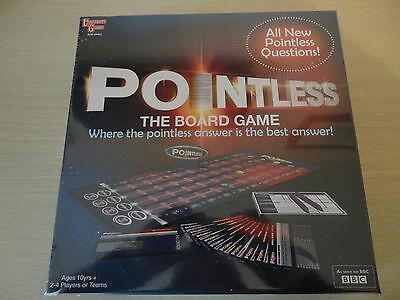 Pointless The Board Game, All New Questions! 100% Brand New Sealed Unopened