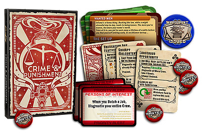 "Firefly: The Game ""Crime & Punishment"""