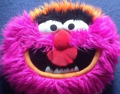 The Muppets Large Animal Big Face Cushion. Disney Store Lovely Condition