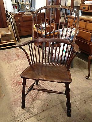 Victorian Windsor Chair in Ash and Elm C1860 -
