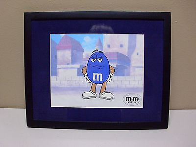 M&M Collectable 3-d litho of Blue from M&M World