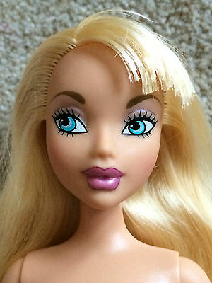 Mattel My Scene Barbie doll nude hair cut