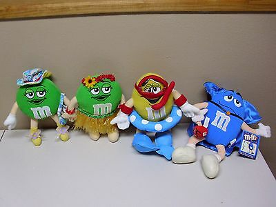 M&M Collectable Plush GUYS(4)