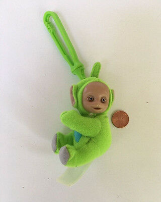 Plush Teletubbies Key Chain Backpack Hook Green Dipsy McDonald's Toy