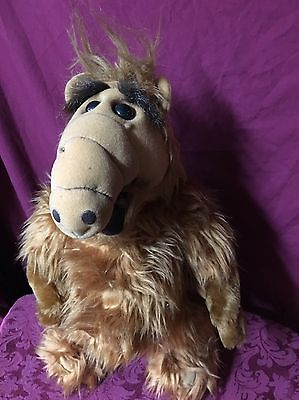 """Vintage 1986 ALF 17"""" Stuffed Plush Doll by Alien Productions SHIPS TODAY!"""
