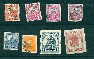 Hungary selection of 8 stamps