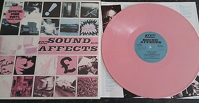 The Jam Sound Affects -  Pink vinyl Mint