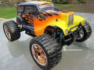RC Monster Truck Brushess Electric 1/10 PRO LIPO 2.4G 4WD 88046