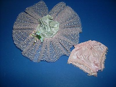 Vtg Nancy Ann Storybook doll Muffie clothes outfit #806 1955 Ballerina