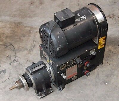 Dumore Series 24 Automatic Drilling Unit, 3/4hp, 3ph, 208-230/460V,
