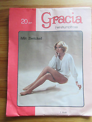 Gracia VTG Women's Pantyhose Hosiery Tights Original Wrapping Paper