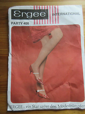 VTG Ergee Women's Pantyhose Hosiery Tights Original Wrapping Paper